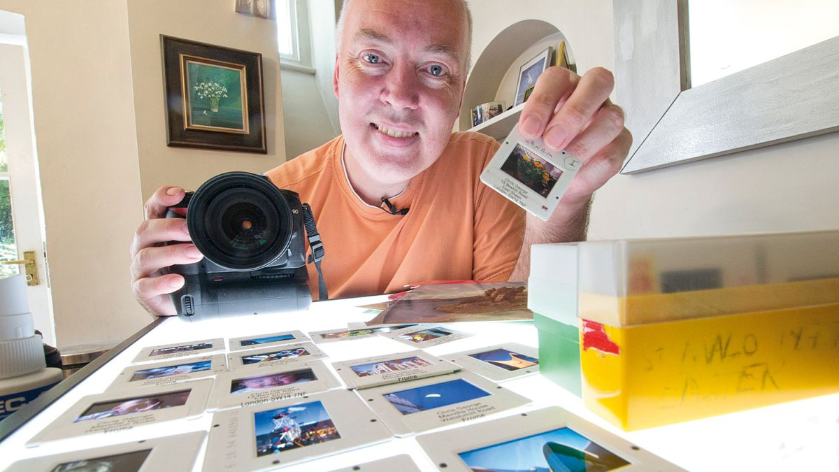 Home photography ideas: Digitize slides and prints using your camera