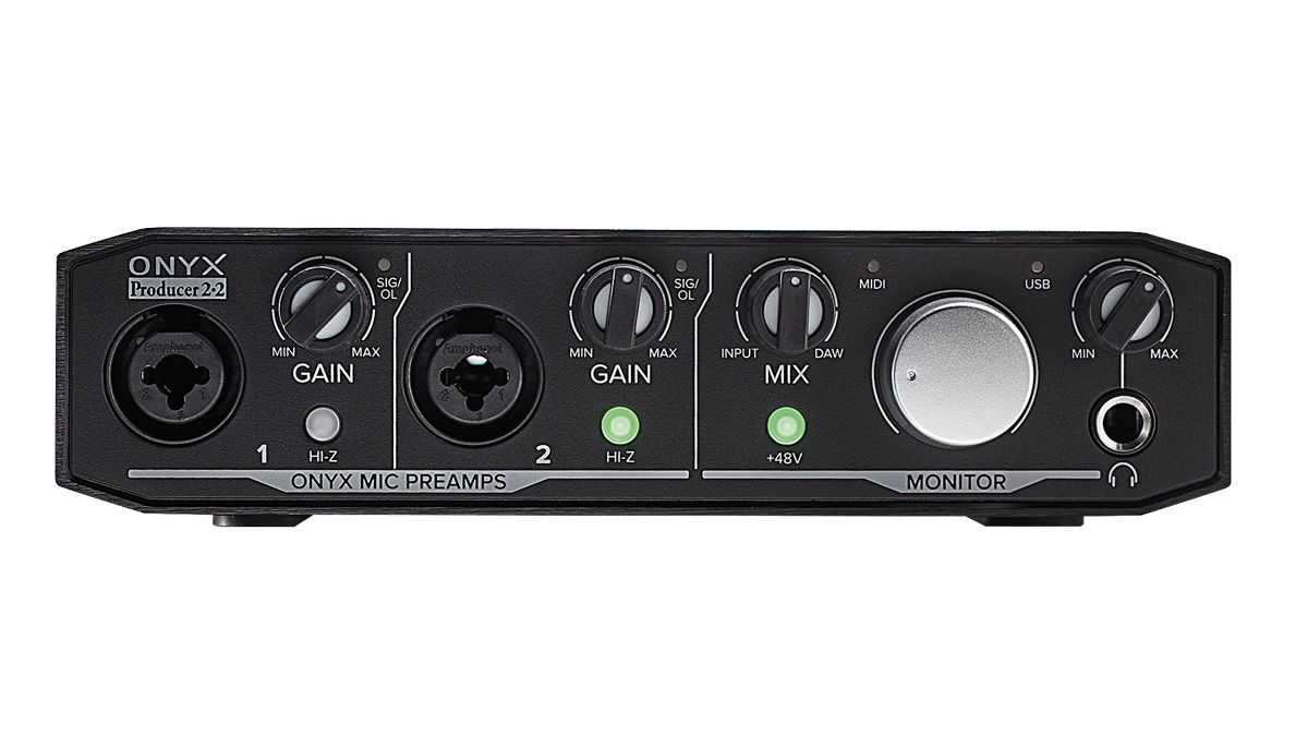 Mackie Onyx Producer 2.2 review | MusicRadar