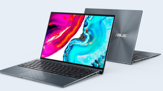 Back to back Asus Zenbooks with Samsung's new 90Hz OLED Display.