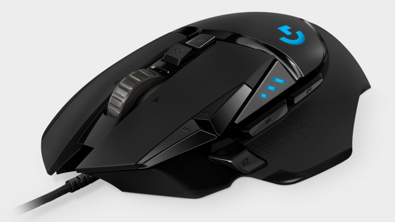 05f675a03cc The Logitech G502 gaming mouse is down to $35 on Amazon | PC Gamer