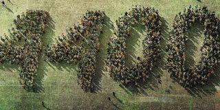 The CW's 4400 Logo
