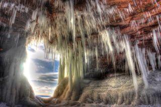 Apostle Islands Ice Cave