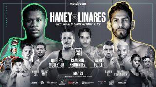 Matchroom Boxing presents Devin Haney vs. Jorge Linares promo