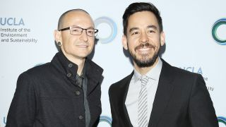 Chester Bennington and Mike Shinoda in 2014