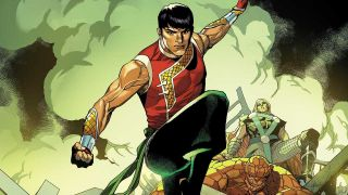 Cover of Shang-Chi #1 by Leinil Francis Yu