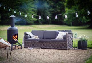 outdoor log burner