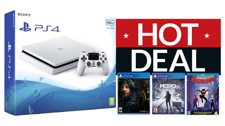 Sony PlayStation 4 Death Stranding Spider-Man Into the Spider-Verse Metro Exodus Gaming deals