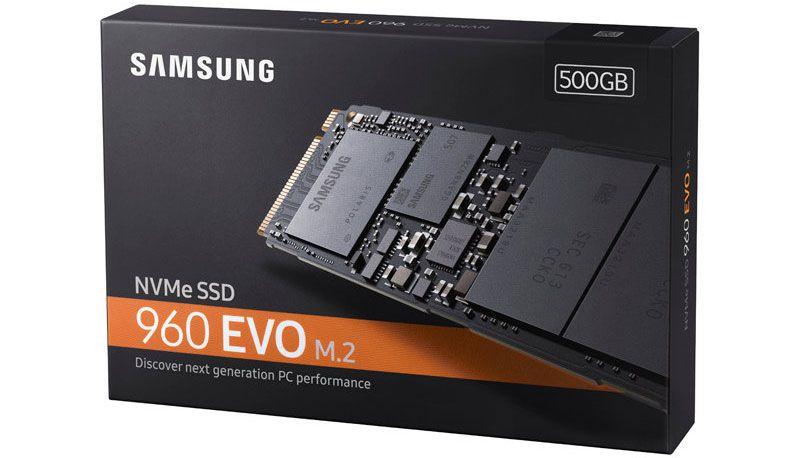 Samsung's speedy 500GB 960 Evo SSD is on sale for $200