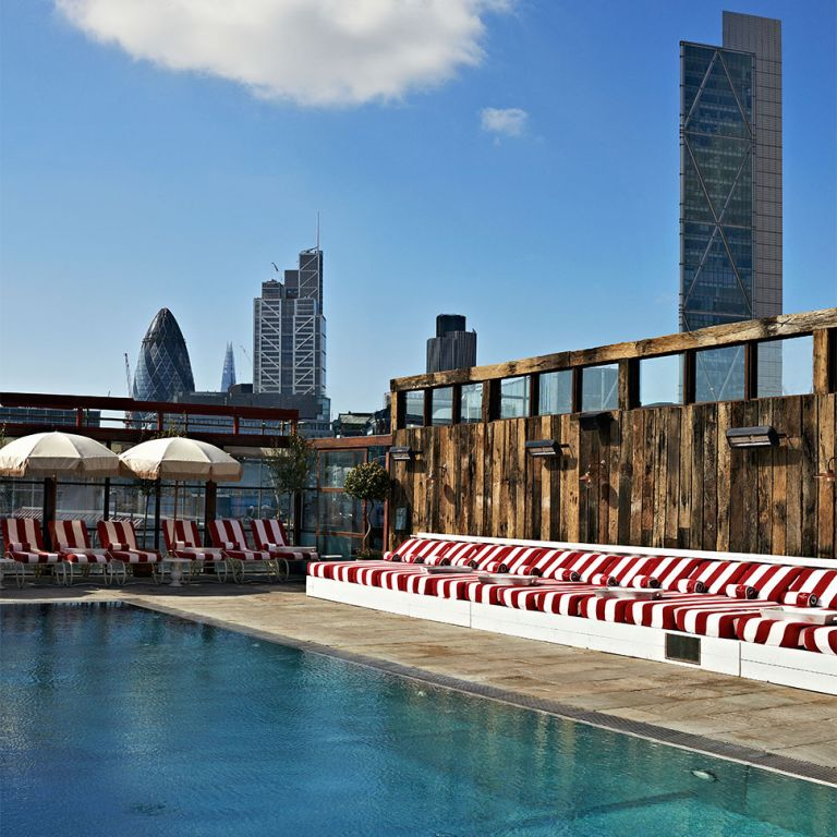 Shoreditch House pool photo
