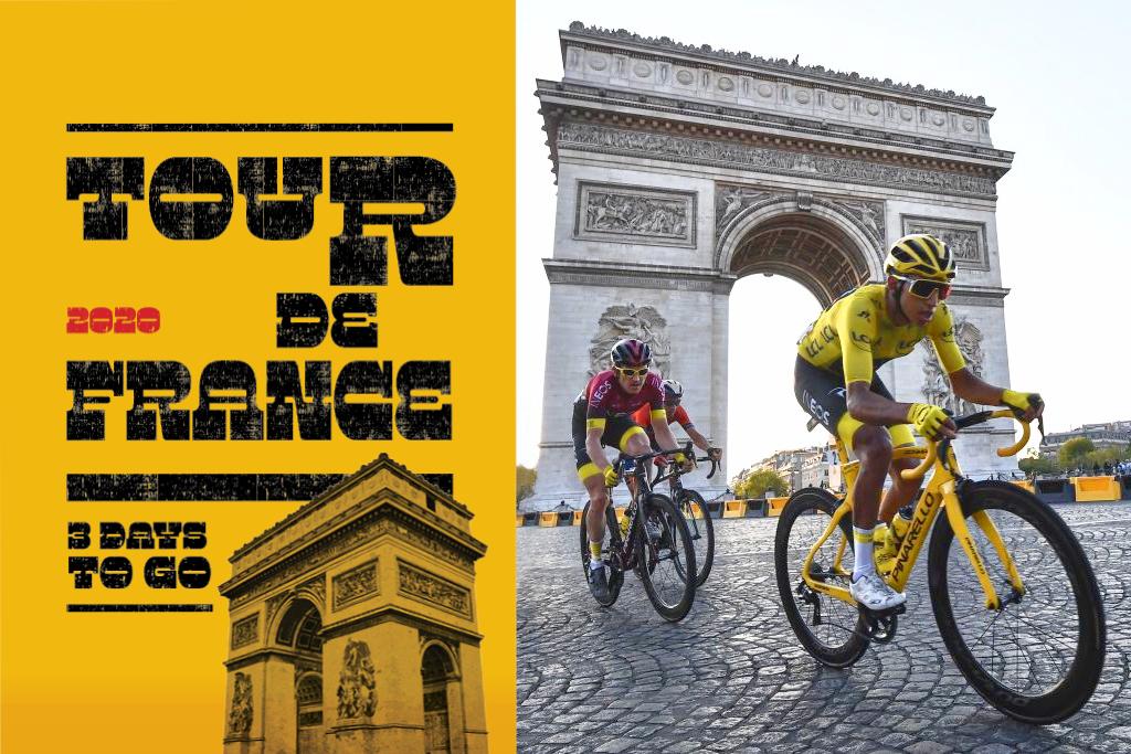 Tour de France live countdown - 3 days to go