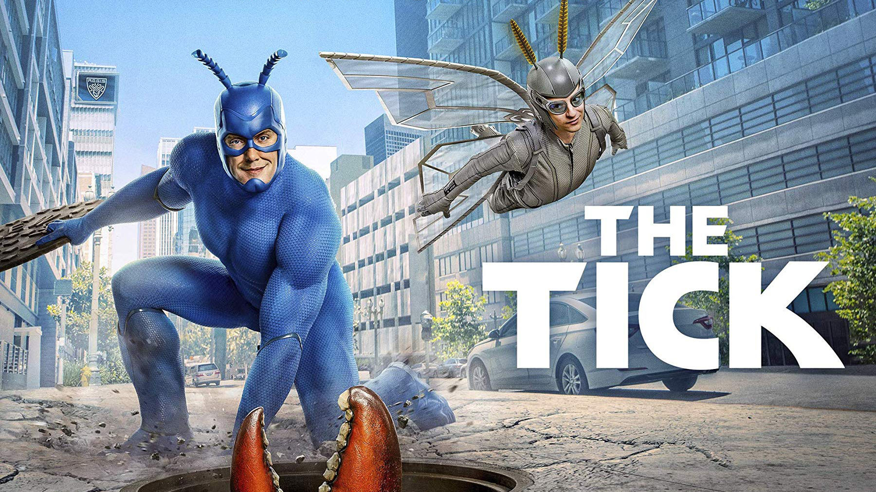 A press shot for the second season of The Tick