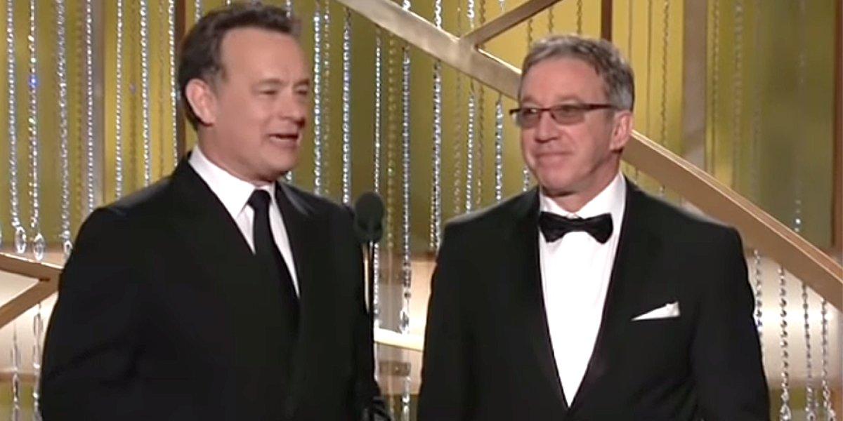 Golden Globes 2011 Tom Hanks and Tim Allen presenters