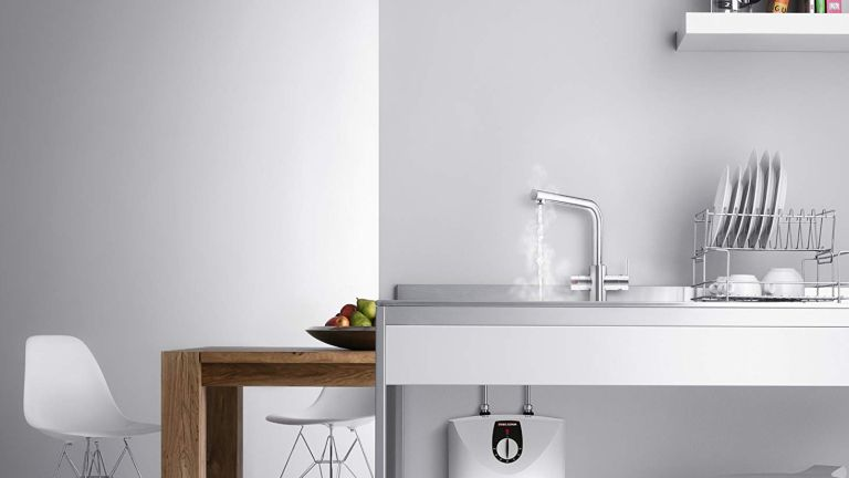 Stiebel Eltron Undersink Water Boiler and 3-in-1 Tap Delivering Boiling/ Hot/ Mains Cold Water