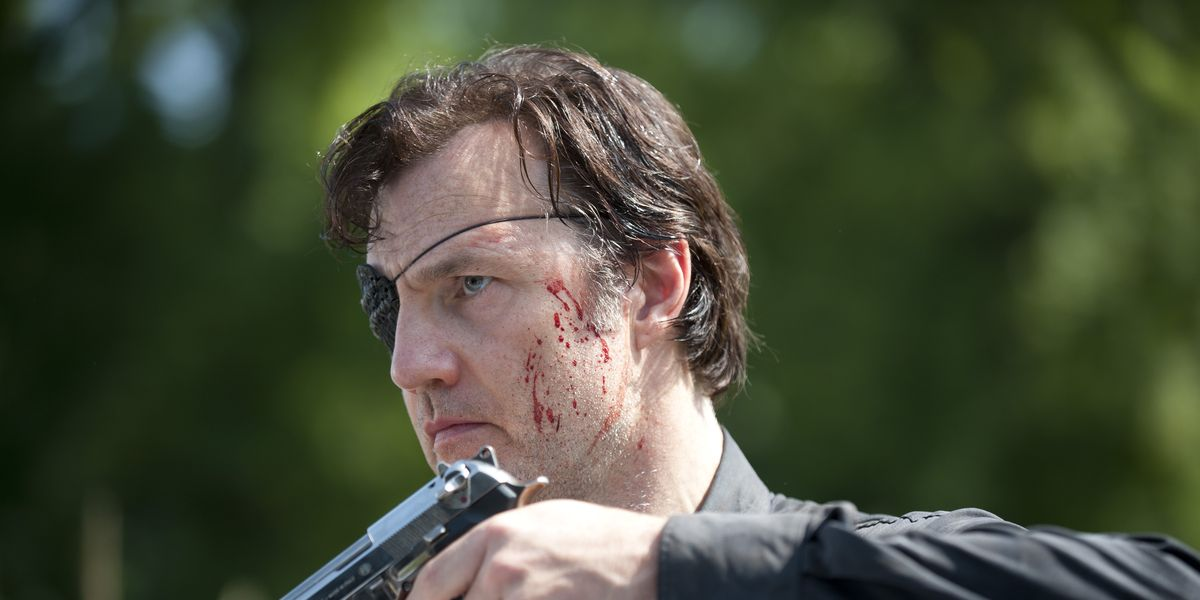 The Governor in The Walking Dead.