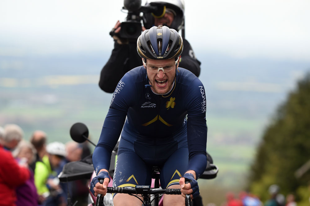 Irish champion Conor Dunne signs with Israeli Cycling Academy after collapse of Aqua Blue Sport