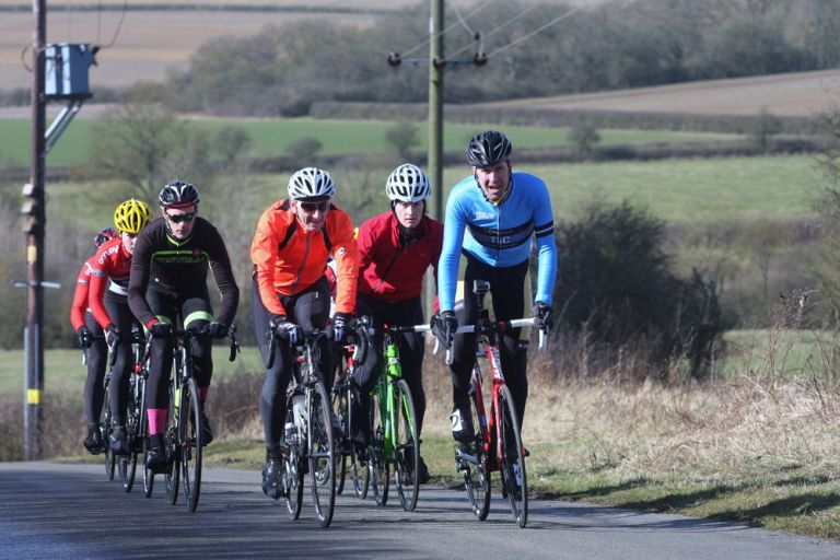 Erwin Vervecken rides the route of the Tour of Cambridgeshire gran fondo