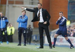 Soccer – Scottish Premiership – Play-Off – Final – First Leg – Rangers v Motherwell – Obrox