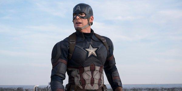 Chris Evans as Captain America in Civil War
