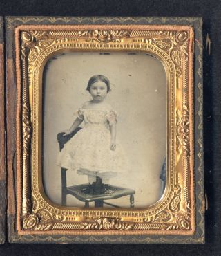 An old photo of an unidentified child.