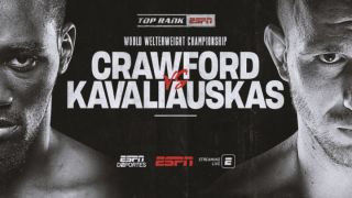 Crawford vs Kavaliauskas live stream boxing
