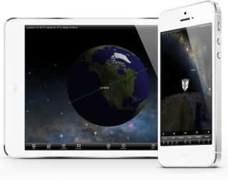 Elysium Space iPad and iPhone App