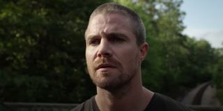 Stephen Amell in the Heels trailer 2021