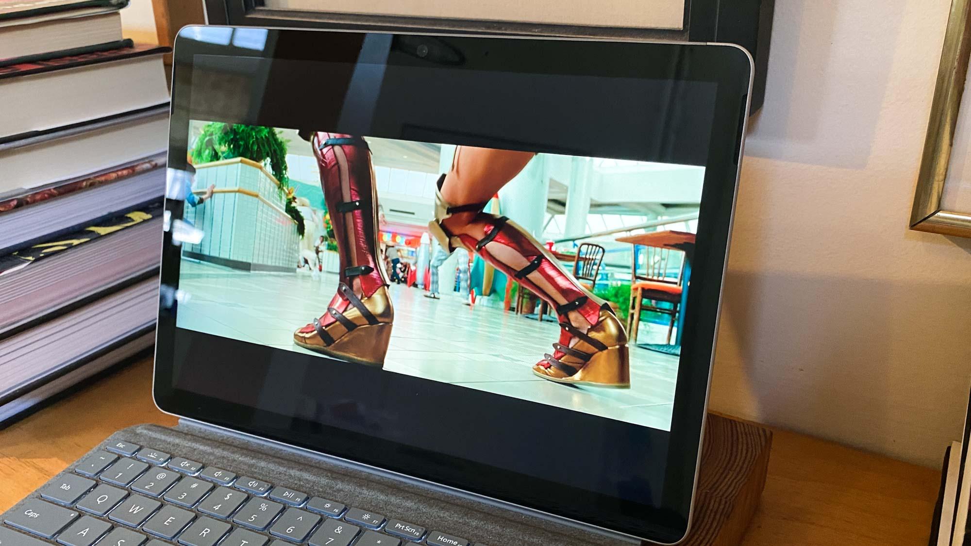 Revisión de Microsoft Surface Go 2 - pantalla