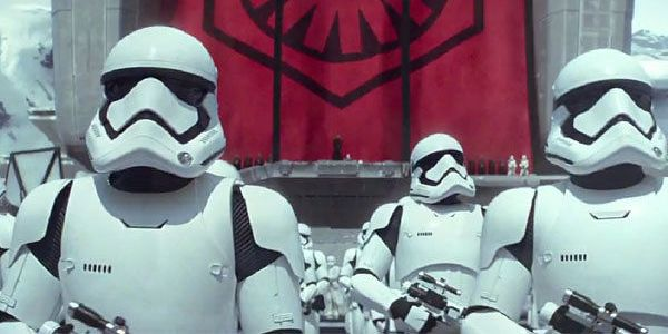 First Order Stormtroopers from Star Wars: The Force Awakens