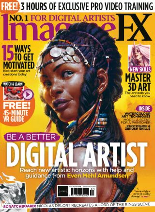 ImagineFX 162 cover