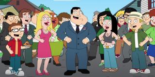 american dad character singing utopia song