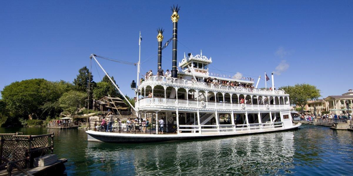Mark Twain Riverboat at Disneyland
