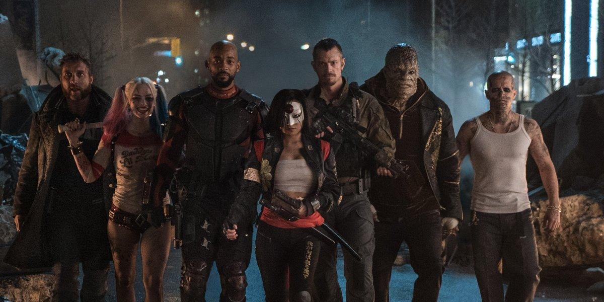 Suicide Squad team lineup in Suicide Squad