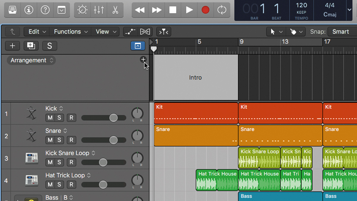 How to use Logic Pro X's Arrangement track to try out ideas | MusicRadar