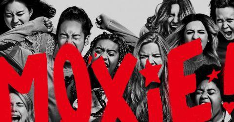 Netflix's Moxie poster.