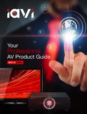 IAVI Releases 2013 Professional AV Product Guide