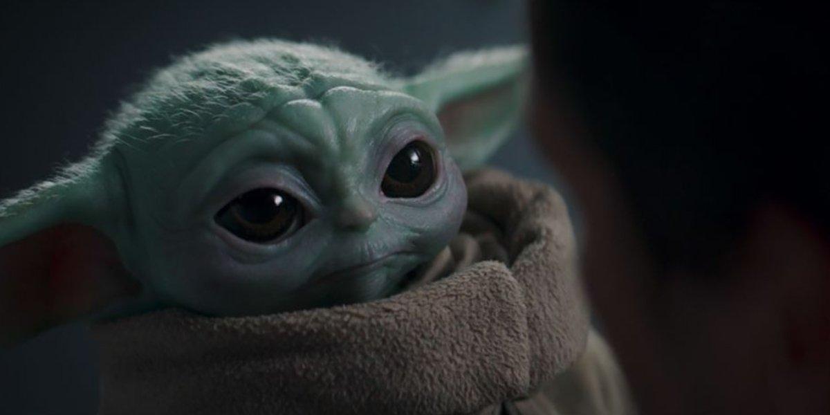 Baby Yoda in the Season 2 finale of The Mandalorian