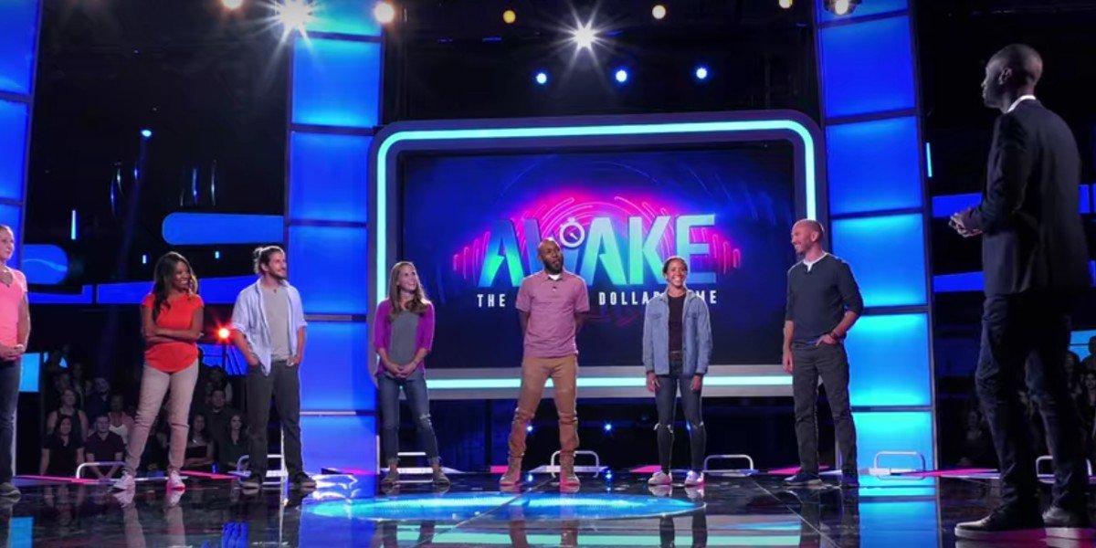 James Davis hosting Netflix's Alive Game Show