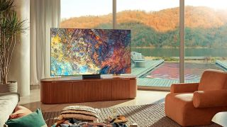 Samsung 4K Mini LED QLED TV deal: $1000 off this 85-inch TV at Crutchfield