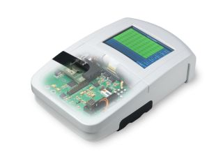QuantuMDx Group Ltd. handheld genetic testing device.