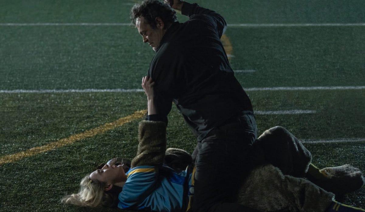 Vince Vaughn and Kathryn Newton in Freaky