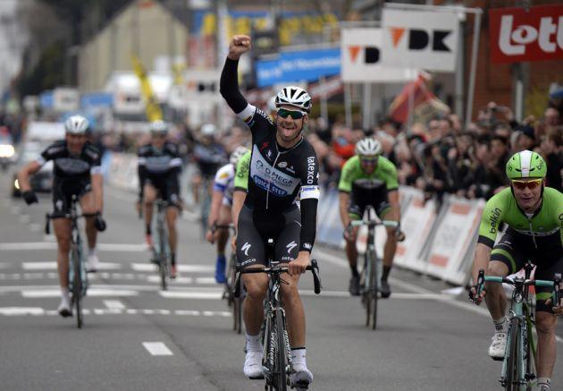 Tom Boonen wins the 2014 Kuurne-Brussels-Kuurne