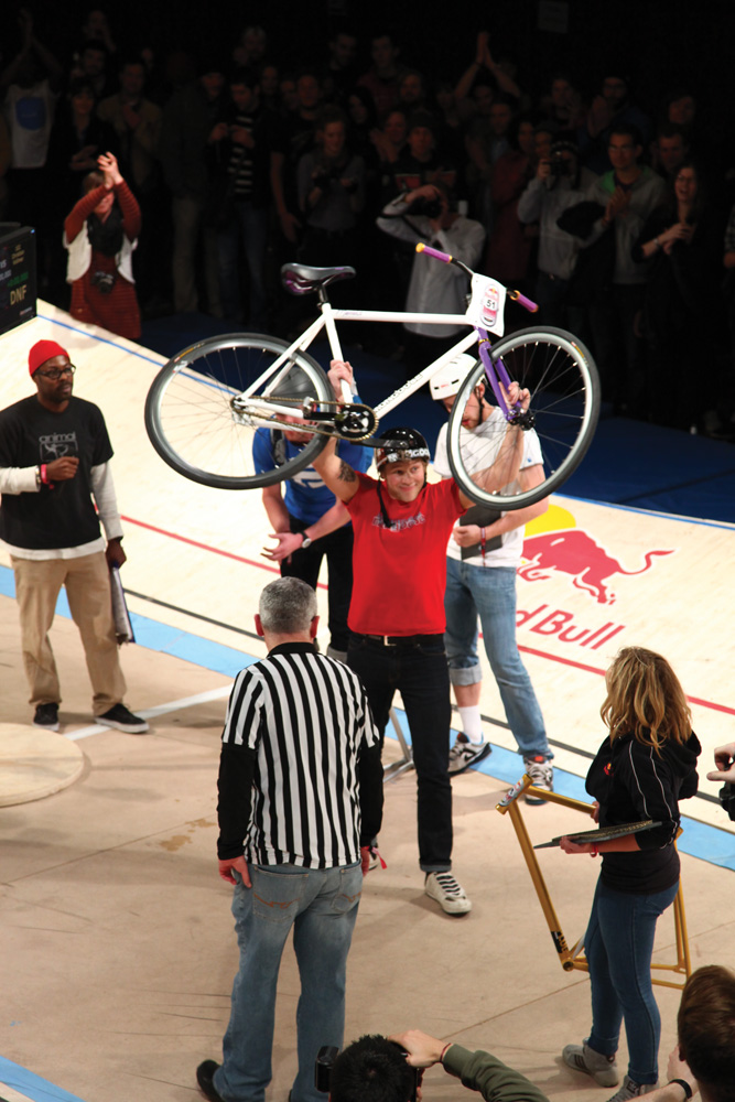 Chris Akrigg, winner, Red Bull Mini Drome 2011, London