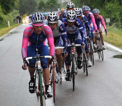 Lampre chase, Giro d'Italia 2010, stage 7