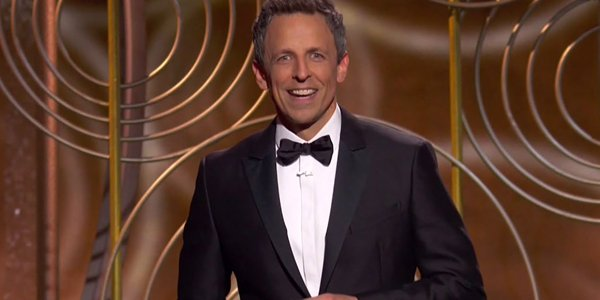 Seth Meyers Golden Globes 2018