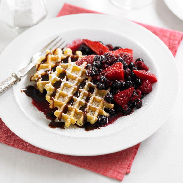 Boozy Berry Waffles recipe-Waffle recipes-recipe ideas-new recipes-woman and home