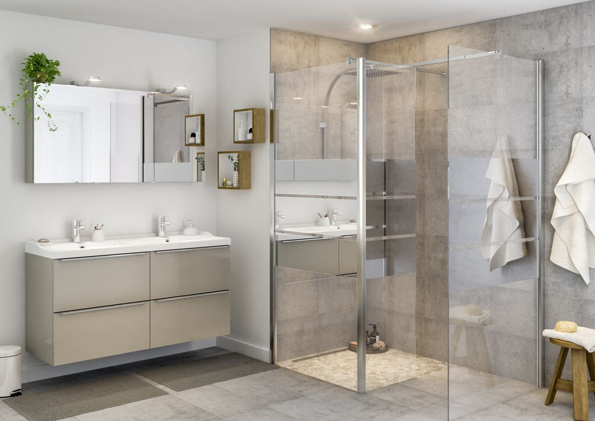 How to clean glass shower doors and get rid of hard water stains and soap scum naturally