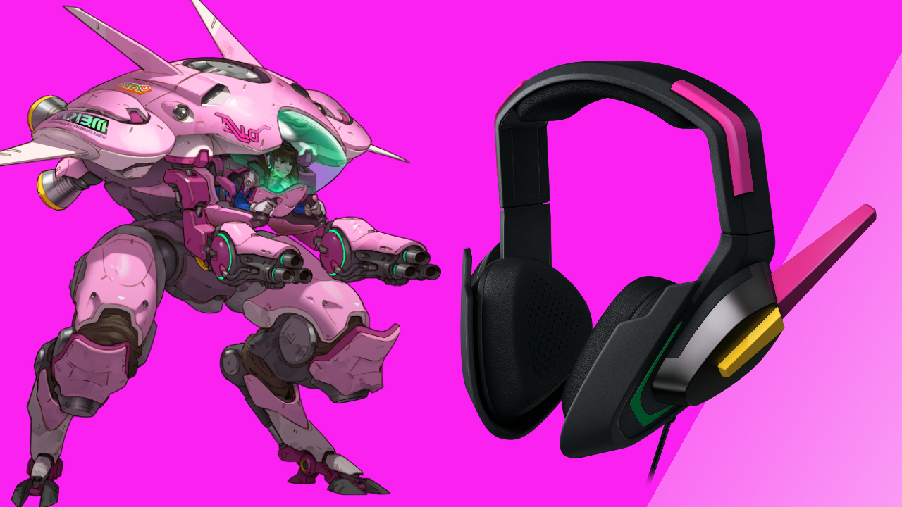 6267e586b7f Be the D.Va you always wanted to be with Razer's new Overwatch headset |  GamesRadar+