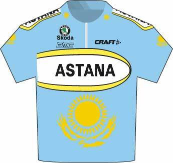 Tour de France 2007 Astana jersey
