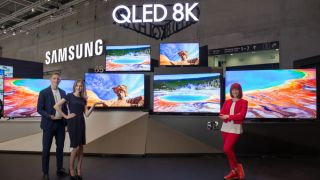 Samsung's 55-inch QLED 8K TV is its smallest to date | TechRadar