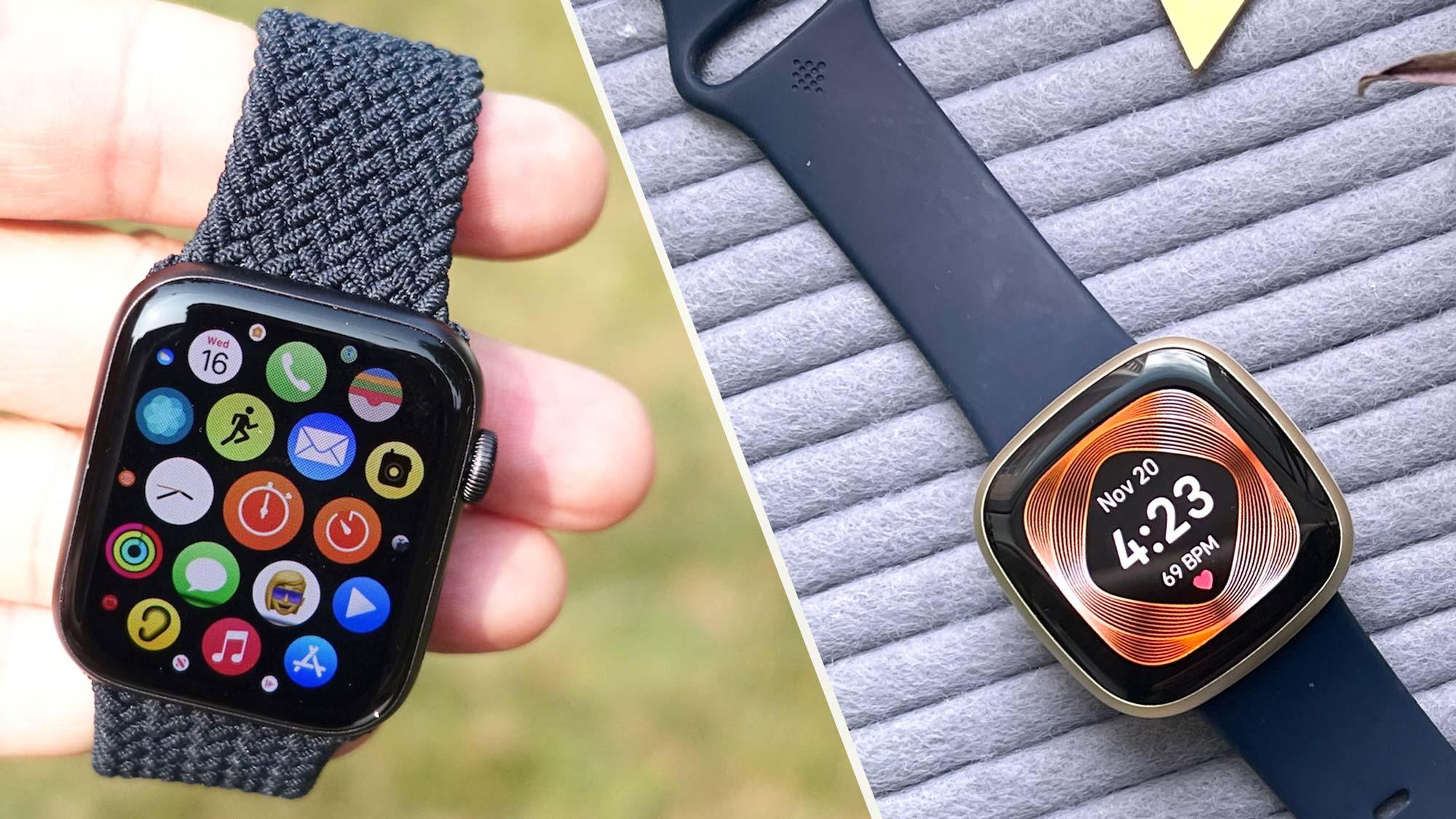 Apple Watch Se Vs Fitbit Versa 3 Which Smartwatch Wins Tom S Guide